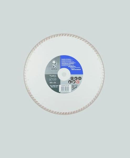 Atlas Diamond Blade - Universal Turbo - 300 x 7 x 3.2 x 20mm